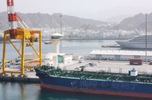 马斯喀特的港口