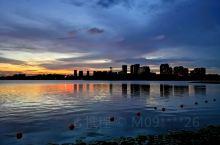 夕照暨阳湖