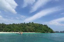 甲米,竹岛的海与沙