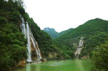 黄花溪 • 清泉汩汩 水流潺潺 九天玄瀑 齐鲁幽谷。 游玩青州古城后,下一站黄花溪。门票90。停车1