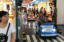 一个适合小朋友放飞自我的地方,商场内有专用行车道