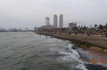 斯里兰卡科伦坡加勒菲斯绿地广场印度洋海滨旅拍~