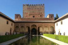 筑梦之旅  之  阿尔罕布拉宫·纳塞瑞斯皇宫  阿尔罕布拉宫的精华所在,要提前预订进场时间,还得排长