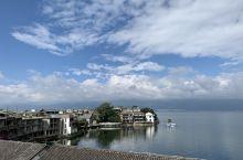 2019年9月5日 云南-双廊→丽江 云南悠闲游第四天 早上起来天气超级好!拍了下我海景窗外的风景,