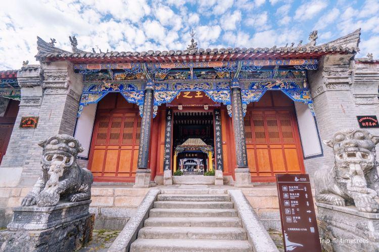 Zhang Liang Temple1