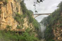 马岭河峡谷,位于贵州省兴义市,集雄、奇、险、秀为一体,谷宽50—150米、谷深120-280米,是在