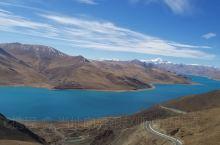 西藏三大圣湖之一:羊卓雍措的晚霞