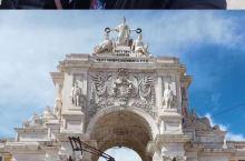 里斯本知名景点打卡 图奥古斯塔凯旋门——葡萄牙的大门 体验了一下里斯本的有轨电车team hill