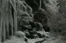 今天实拍虎牙冰瀑,预计一月中旬迎来最好的季节