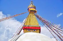 🇳🇵尼泊尔游玩指南之一❤️:世界遗产📌 博大哈佛塔(Boudha Stupa)  💗推荐理由: 背景