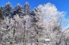 长白山冬季美景,东北一定要冬天来感受雪景冬天,暖炕,米酒