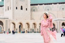 摩洛哥哈桑二世清真寺拍照一把辛酸泪