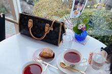 日本大阪 蛋糕用温泉蛋盐做的咖啡馆  スプリングテラス咖啡馆(带庭院,蛋糕是用有马温泉蛋盐做的)