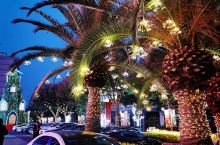 加州广场的景观灯好赞