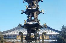 《大年初一去火山口中的钟灵禅寺祈愿》