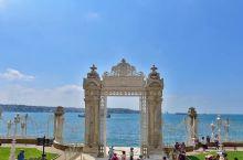 奥斯曼帝国苏丹的皇宫,漂亮的海景花园