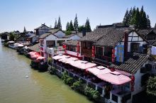 上海老古镇朱家角,里面有很多老上海风情的小零食,非常好吃,值得回味,疫情期间,又是工作日,但仍然有一