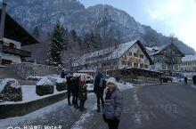 冬天的德国新天鹅堡。
