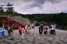 漫步在日本三岛的空中索桥,山谷幽静,凉风习习,让人神清目爽。远眺可以看见富士山,三岛市区,以及伊豆半