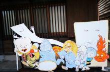 在境港市妖怪街,尋日本动漫妖怪世界,妖怪们!