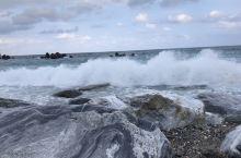 花莲太平洋公园,是鹅卵石海滩