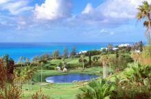 从纽约出发经过两个小时的飞行来到了百慕大加勒比海上的美丽小岛 这次入住了Southampton的费尔