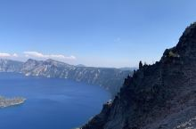 Way bigger than I thought  Crater lake is the deep