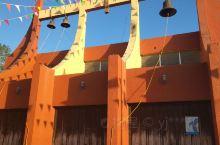 南美第74天    奇琴伊察景区的皮斯特小镇的清晨市容,今天中午坐大巴去坎昆。