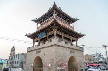 【山西临汾汾城镇鼓楼】上世纪汾城镇由县降为镇,因经济发展较慢而保存了大量不同时期的历史建筑。汾城镇古