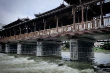 富川网红桥–––东门桥(打卡),连接着两岸的交通往来,这里就是富川古明城,这里见证着这座城市的发展与