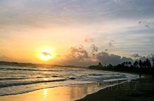 斯里兰卡美瑞莎的日落,微笑的国度,