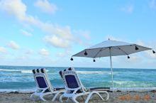 迈阿密的海,适合发呆!哈哈