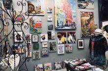 迈阿密· Little Havana 充满古巴特色的一条街,色彩鲜明的涂鸦,画廊,餐馆,酒吧,雪茄店