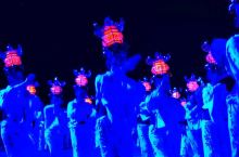 """跟着我的镜头,来山鹿市,看一场日本传统文化""""千人灯笼舞""""!"""