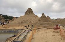 舟山的沙雕广场