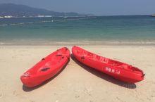 深圳桔钓沙莱华度假酒店旁边的海上运动中心,皮划艇、游艇、帆船,项目丰富。