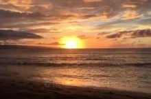 为了看那么美的日出,起再早我都愿意! 茂宜岛·夏威夷