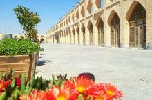 伊朗伊斯法罕星期五清真寺。