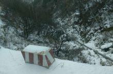 我给这几张图片取名白石残雪和绝壁栈道。 白石山海拔高,虽然雪已下了有些日子,但阴面仍有大量积雪(阳面