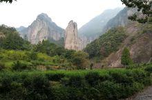 剪刀峰,这是雁荡山大龙湫景区内的风景。