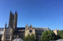 伦敦后花园2000年历史古城坎特伯雷。 是英国🇬🇧最古老最具宗教影响力的古城,世界文化遗产的坎特伯雷