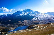 大名鼎鼎的牛心山,聽了好多年,旅遊雜誌上時時出現的美景照,原來在這裡。 卓爾山國家公園在祁連縣,聞名