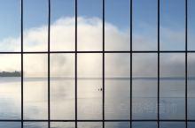 Lake Pupuke 那天雾很浓,十分奇特稀有的景观,就拍下来了
