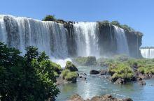 伊瓜苏瀑布巴西看阿根廷! 明天回去阿根廷那边回望巴西。