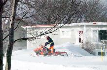 #加拿大雪乡# 喜欢雪的朋友可以考虑春节假期到加拿大东部城市圣约翰斯来看雪,这里刚刚遭遇了几十年一遇