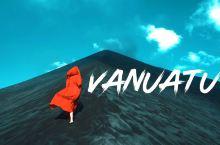 在瓦努阿图看火山爆发