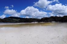 新西兰鸟岛,硫磺岛,街景。