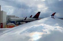 底特律机场  #达美航空 #Delta