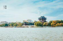 """望海楼,江淮第一楼 望海楼是凤城河风景区核心景观。始建于宋,盛世重建,国学大师文怀沙老人称其为""""江淮"""