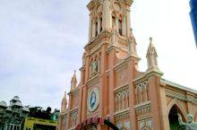 岘港粉红教堂——萌萌哒的粉红色哥特式建筑